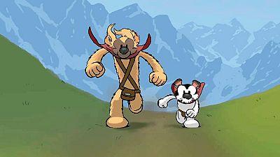 Viñetas y bocadillos - 'Atlas & Axis' de Pau - 25/03/17