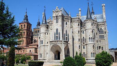Marca España - La huella de Gaudí en León - escuchar ahora