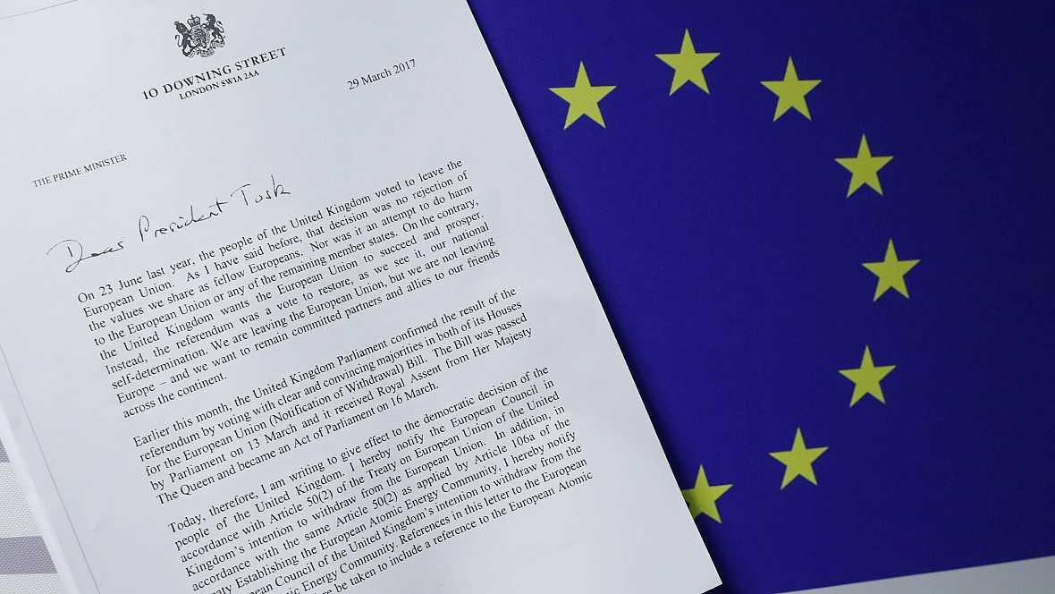 Europa abierta - El 'brexit' se hace realidad - escuchar ahora