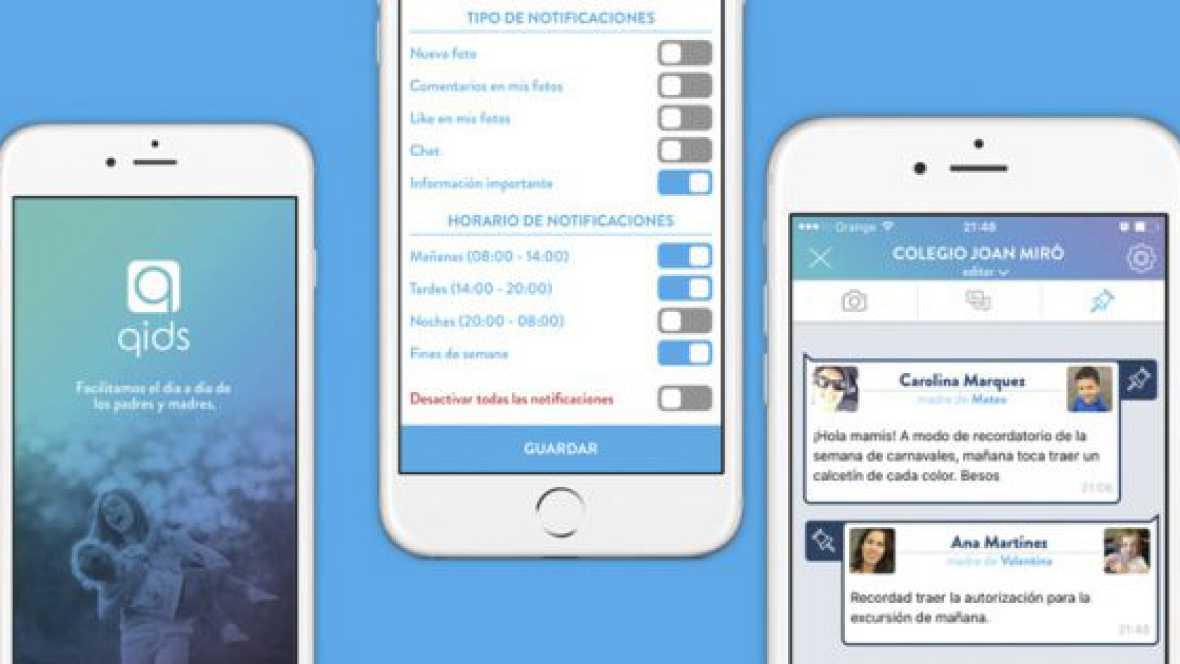 Artesfera - QIDS, una 'app' española para mejorar la comunicación entre colegios y familias - 12/04/17 - escuchar ahora