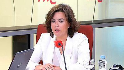 Las mañanas de RNE - Sáenz de Santamaría acusa al Govern catalán de estar atado a la CUP - Escuchar ahora