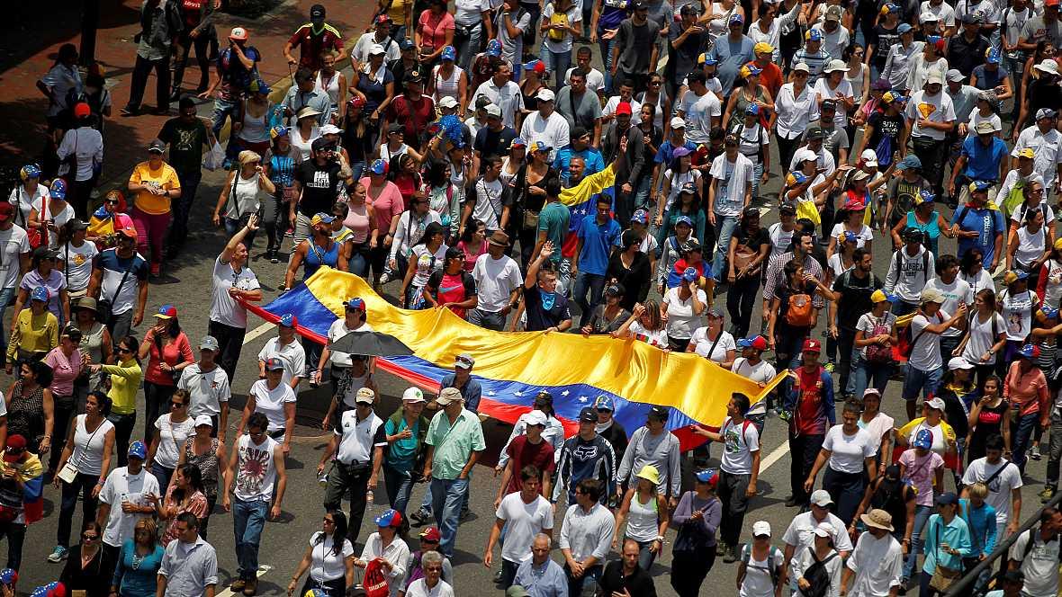 América hoy - Siguen las protestas en Venezuela - 20/04/17 - escuchar ahora