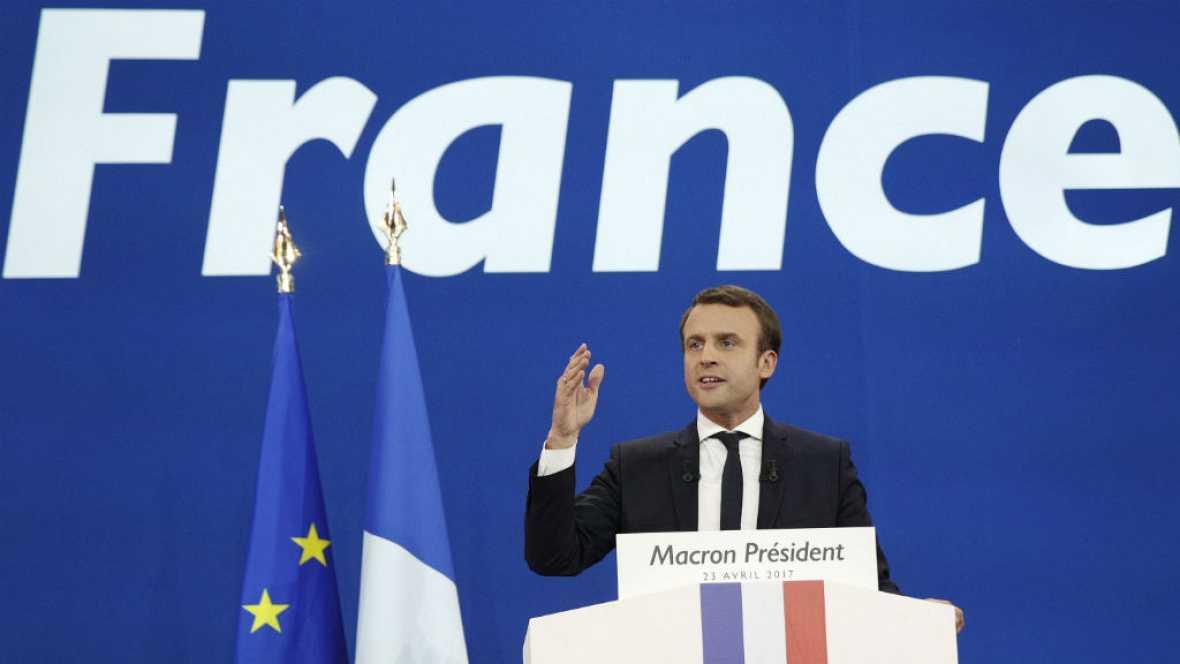 Diario de las 2 - El independiente Emmanuel Macron, favorito para llegar al Elíseo - Escuchar ahora