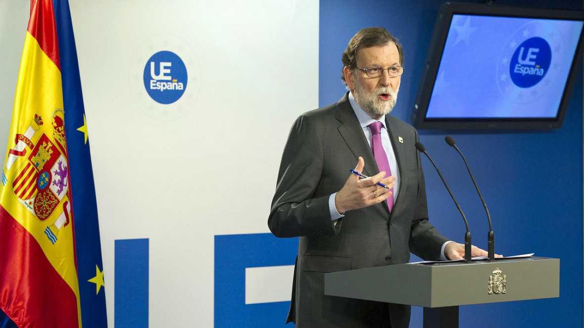 Boletines RNE - Rajoy dice, con sorna, que no presentará una moción contra el señor Iglesias - Escuchar ahora