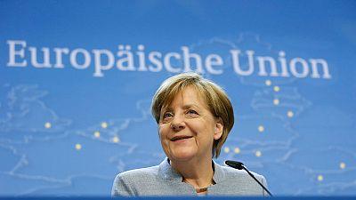 """Boletines RNE - Merkel afirma que no hay """"ninguna conspiración contra el Reino Unido"""" - Escuchar ahora"""