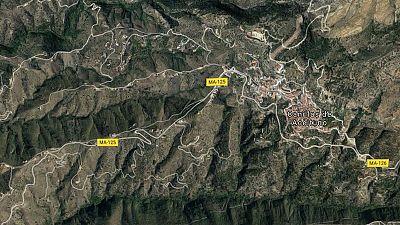 Tres muertos al estrellarse una avioneta en la provincia de Málaga
