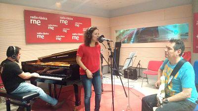 Estudio 206 - Trío todo Gershwin (Federico Lechner, Chema Sáiz y Sheila Blanco) - 12/05/17 - escuchar ahora