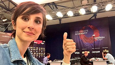 En escena - Eurovisión 2017: Julia Varela desde Kiev - 12/05/17 - Escuchar ahora