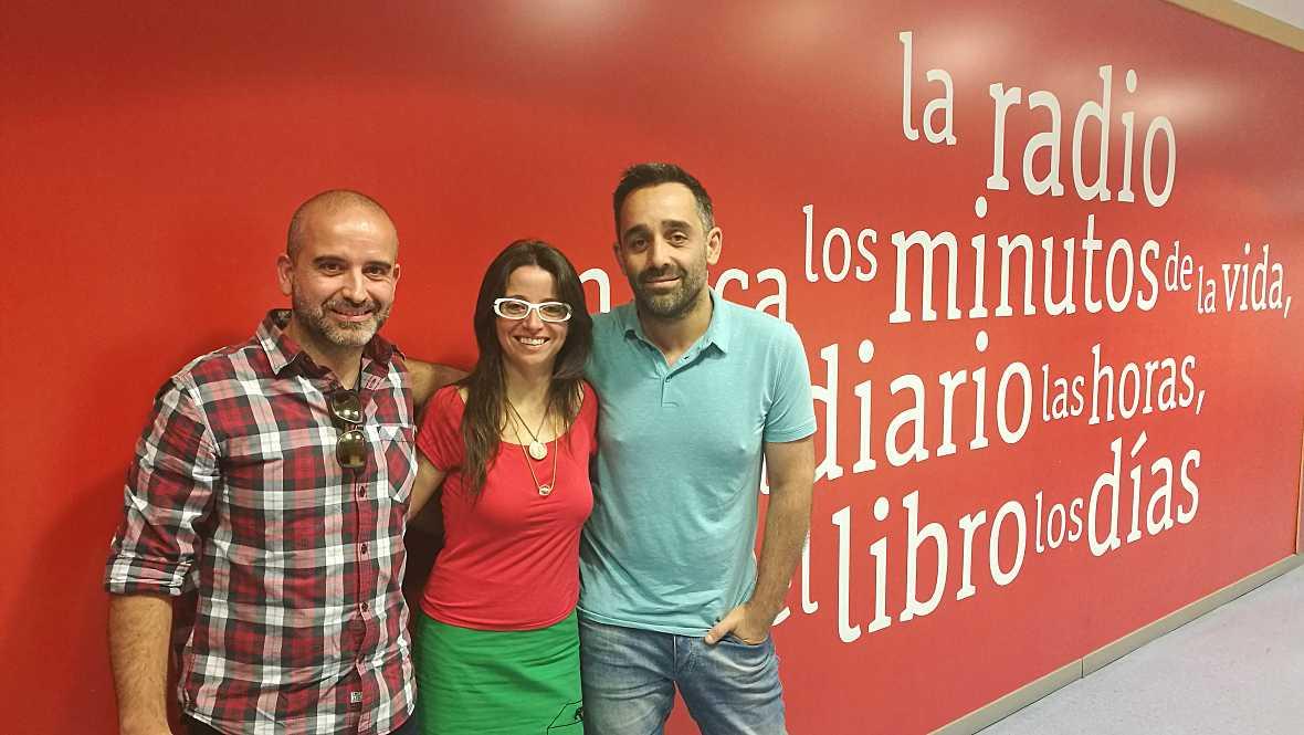 La sala - Marta Arteaga, David Aramburu y José Pascual Abellán - 15/05/17 - Escuchar ahora