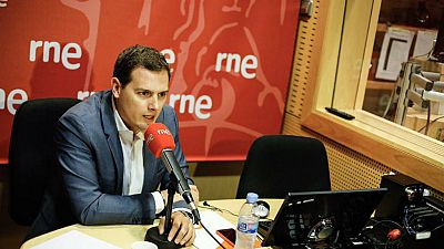 """Las mañanas de RNE - Albert Rivera (Cs): """"El PP de Madrid está en descomposición y eso no es culpa de la Guardia Civil"""" - Escuchar ahora"""