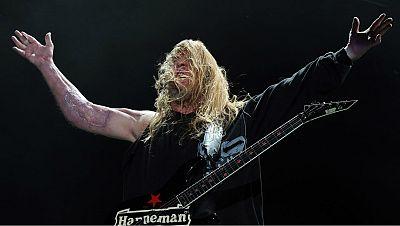 Bandera negra - Santo Rostro & Jeff Hanneman (Slayer) - 19/05/17 - escuchar ahora