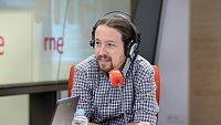 Las mañanas de RNE - Iglesias considera una falta de respeto que Rajoy no esté en el debate de la moción - Escuchar ahora
