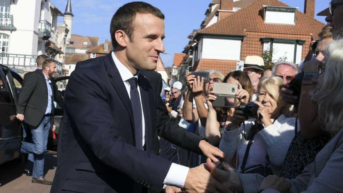 Radio 5 Actualidad - El partido de Macron consigue mayoría absoluta en la Asamblea Nacional -19/06/17 - Escuchar ahora