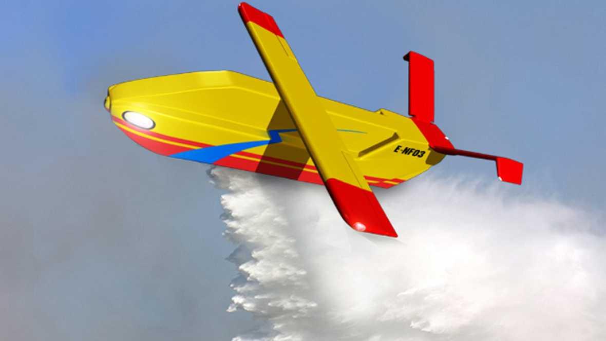 Por todo lo alto - Drones en la lucha contra incendios - 21/06/17 - Escuchar ahora