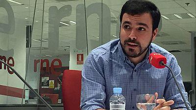 """Las mañanas de RNE  - Alberto Garzón: """"La alianza con Podemos es buena pero se puede mejorar"""" - Escuchar ahora"""
