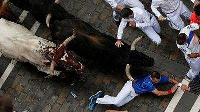 Sanfermines 2017 - Encierro rápido y limpio de los toros de Fuente Ymbro - Escuchar ahora