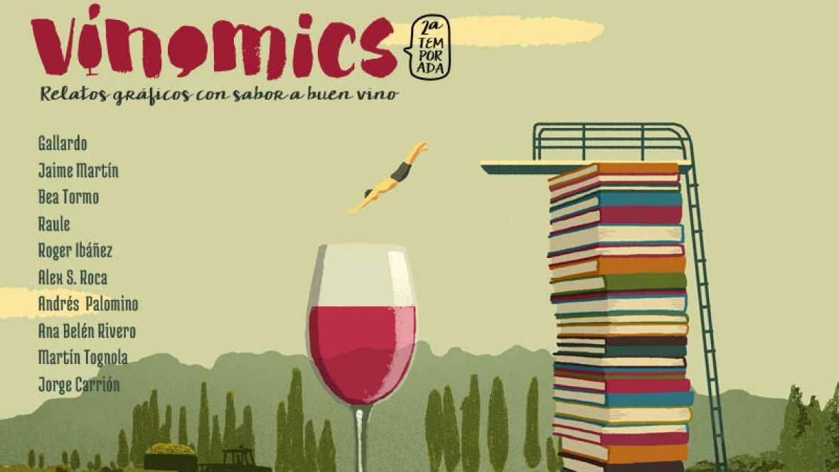 Viñetas y bocadillos - Vinocomics, segunda temporada - 15/07/17 - Escuchar ahora