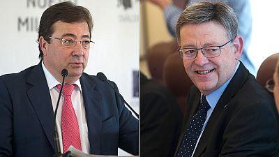 El PSOE elige a sus líderes regionales en Valencia, Extremadura, Cantabria y La Rioja