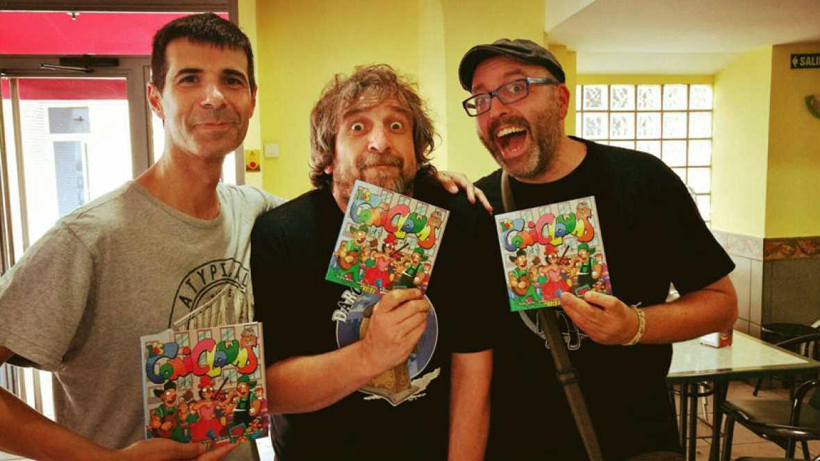 Viñetas y bocadillos - Los comiclowns - 23/07/17 - Escuchar ahora
