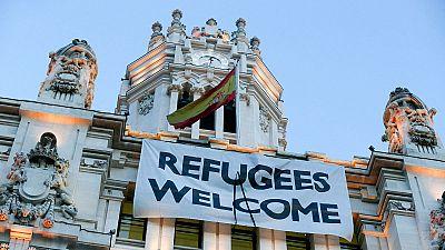 Trasladan a Guadalajara a un grupo de refugiados que acampaban en Madrid