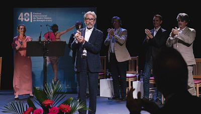 La sala - José Sacristán, Premio Corral de Comedias del Festival de Almagro - 24/07/17 - Escuchar ahora