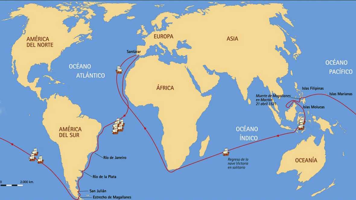 Españole en la mar - Primera circunnavegación del mundo - 21/07/17 - escuchar ahora