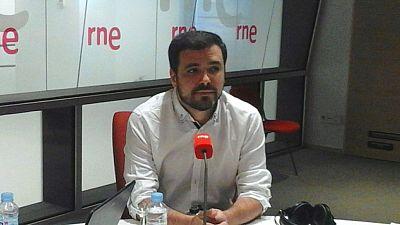 """Las mañanas de RNE - Alberto Garzón no votaría en el referéndum del 1-O por no reunir las """"garantías democráticas necesarias"""" - Escuchar ahora"""