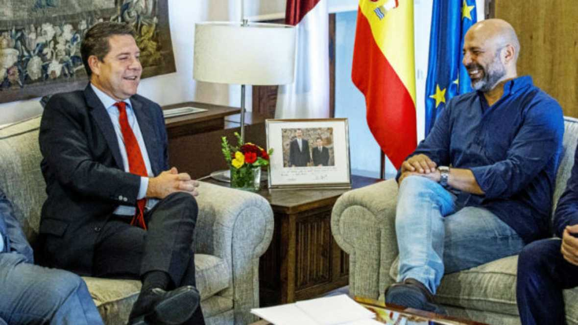 Diario de las 2 - Las bases de Podemos en Castilla-La Mancha aprueban el pacto con el PSOE - Escuchar ahora