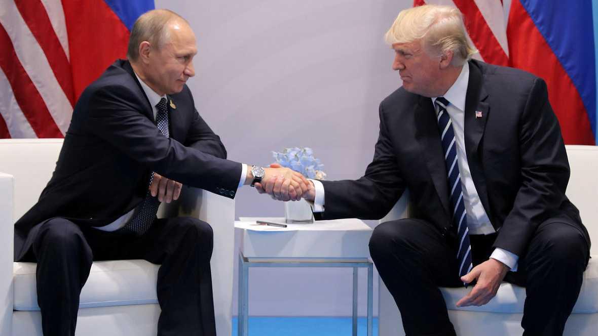 Tertulia internacional - Trump ratificará las sanciones a Rusia pese a la buena sintonía con Putin - 29/07/17 - Escuchar ahora