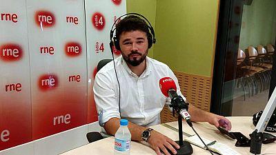 """Las mañanas de RNE - Gabriel Rufián (ERC), sobre el 1-O: """"No hay plan B"""" - Escuchar ahora"""