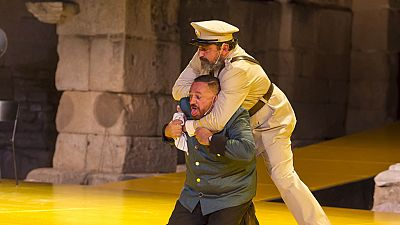 Las mañanas de RNE - Paco Tous y Pepón Nieto, en Mérida con 'La comedia de las mentiras' - Escuchar ahora