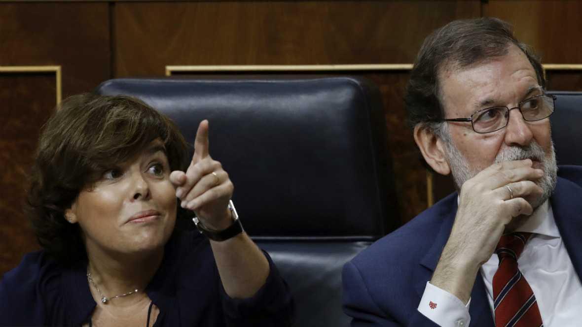 Diario de las 2 - Mariano Rajoy pide que nadie participe en las mesas del referéndum ilegal - Escuchar ahora