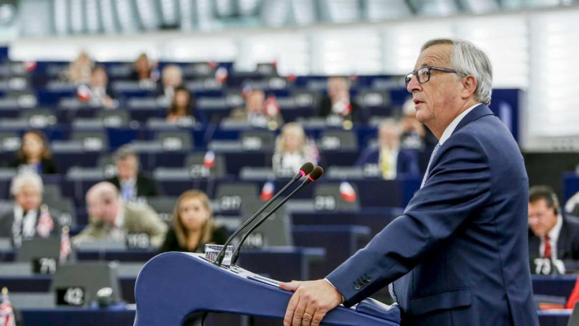 Diario de las 2 - Juncker: es el momento de avanzar hacia una Europa más fuerte y unida - Escuchar ahora