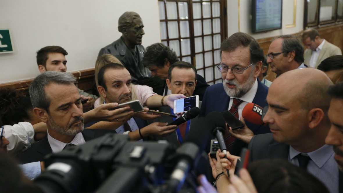 24 horas - Rajoy pide a los catalanes que no vayan a las mesas electorales, un acto ilegal - Escuchar ahora