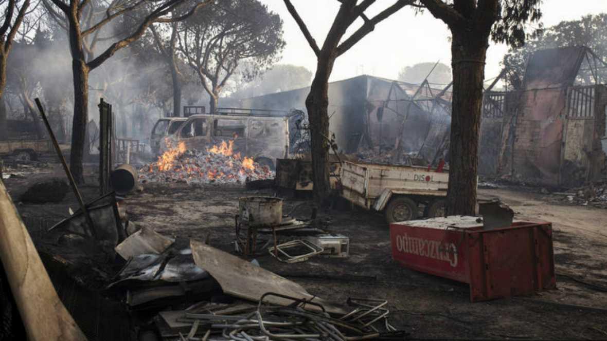 Radio 5 Actualidad - Investigan la responsabilidad de una carbonería por el incendio en Doñana en junio - 14/09/17 - Escuchar ahora