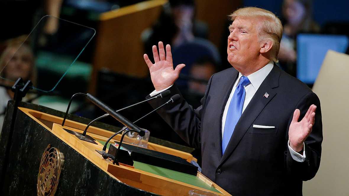 """Asia hoy - Trump y el """"Hombre Cohete"""" - 20/09/17 - Escuchar ahora"""