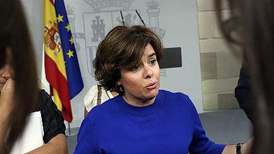 Diario de las 2 - El Gobierno insta a Puigdemont a reflexionar y no movilizar la calle - Escuchar ahora