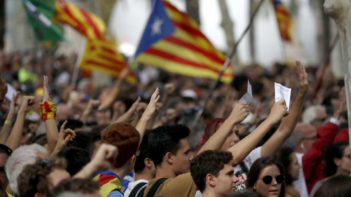 Diario de las 2 - Los independentistas protestan hoy ante el Tribunal Superior de Justicia de Cataluña - Escuchar ahora