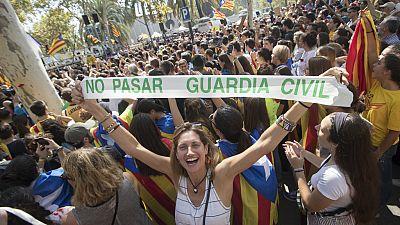24 horas - Concentración ante el Tribunal Superior de Justicia de Cataluña contra las detenciones - Escuchar ahora