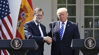 """Las mañanas de RNE - Trump: """"El pueblo de Cataluña deberiá quedarse en España, sería una tontería no hacerlo"""" - Escuchar ahora"""