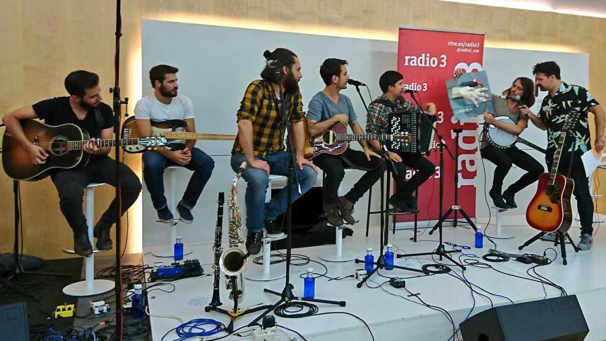 Especial Radio 3 - La M.O.D.A. presentan sus nuevas canciones en directo - 28/09/17 - escuchar ahora