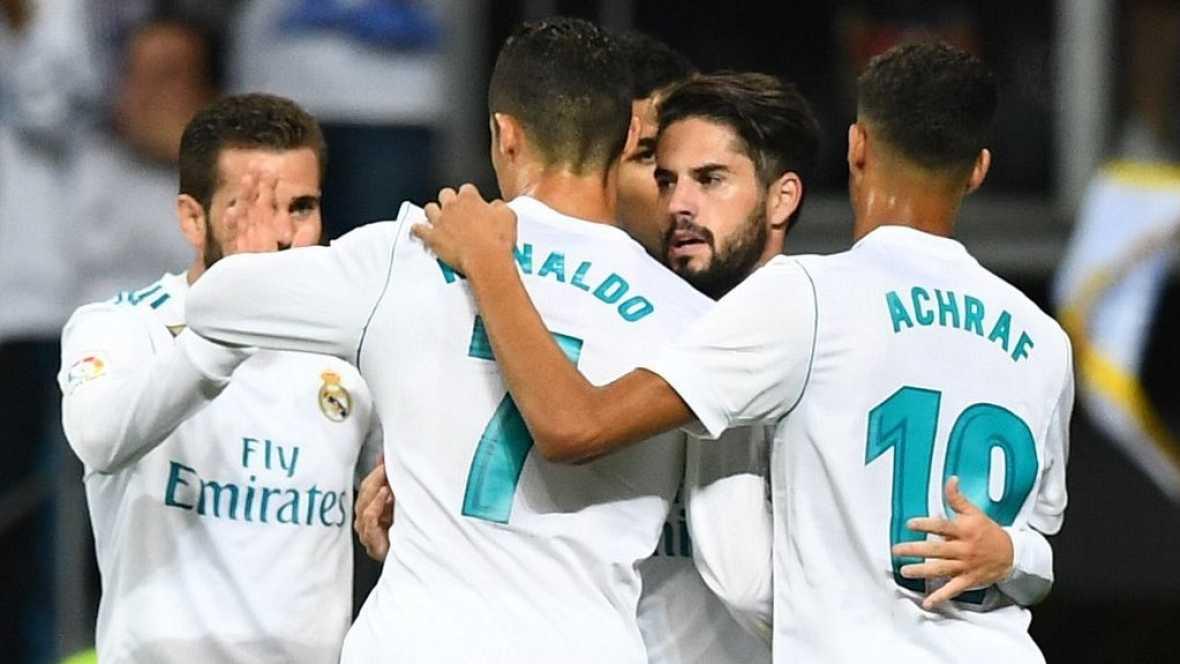 Tablero deportivo - Los goles del Real Madrid 2 Espanyol 0 - Escuchar ahora