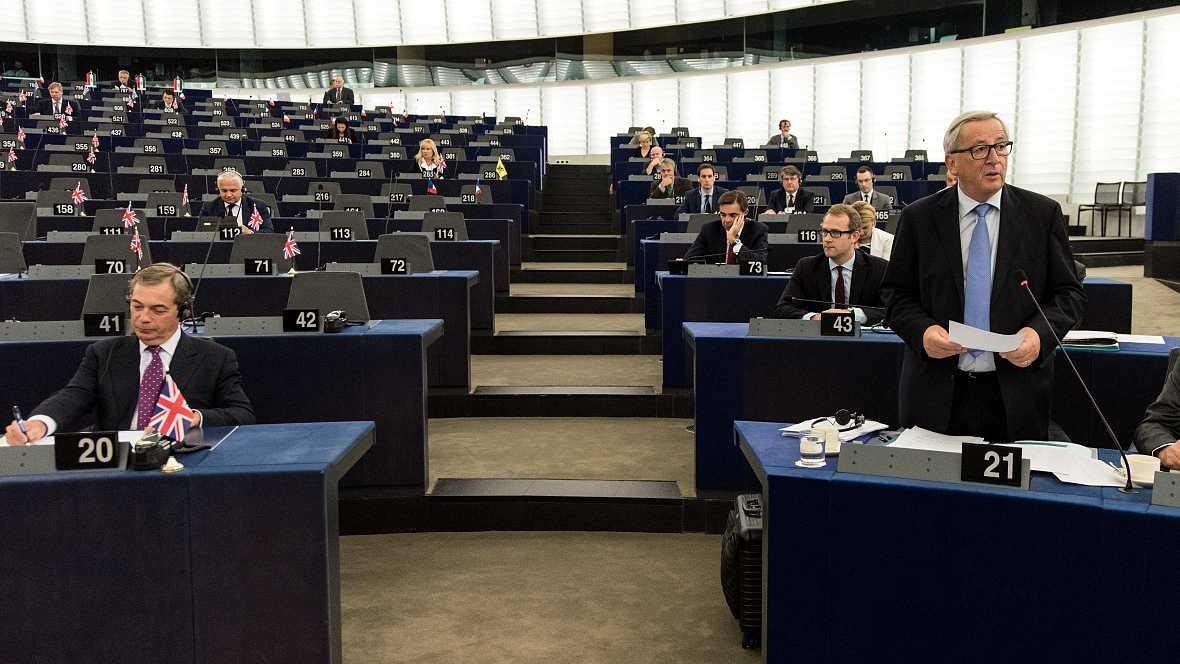 La unidad ejemplar de Europa respecto al 'brexit' - escuchar ahora