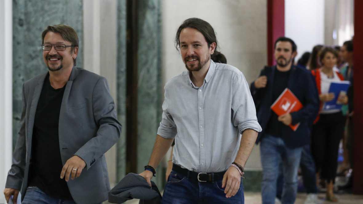 24 horas - Iglesias ofrece su mediación. Rajoy se niega a hablar con quien plantea un chantaje tan brutal al Estado - Escuchar ahora