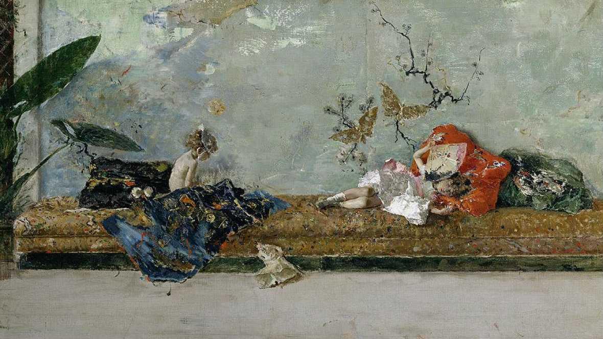 Cuéntame un cuadro - Los hijos del pintor en el salón japonés de Mariano - Escuchar ahora