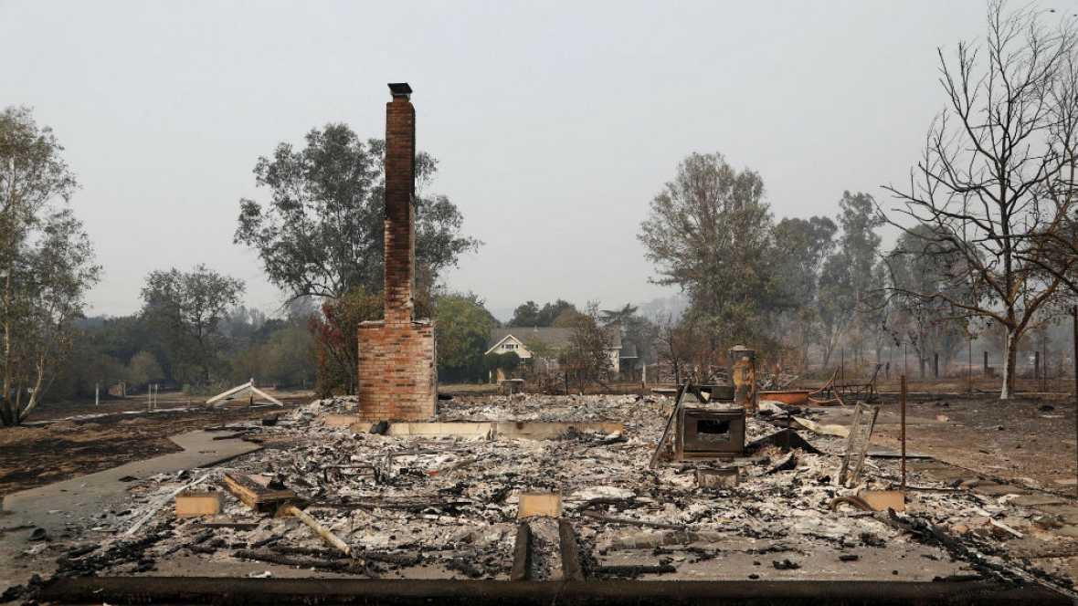 Las mañanas de RNE - Los bomberos no consiguen frenar los incendios de California - Escuchar ahora
