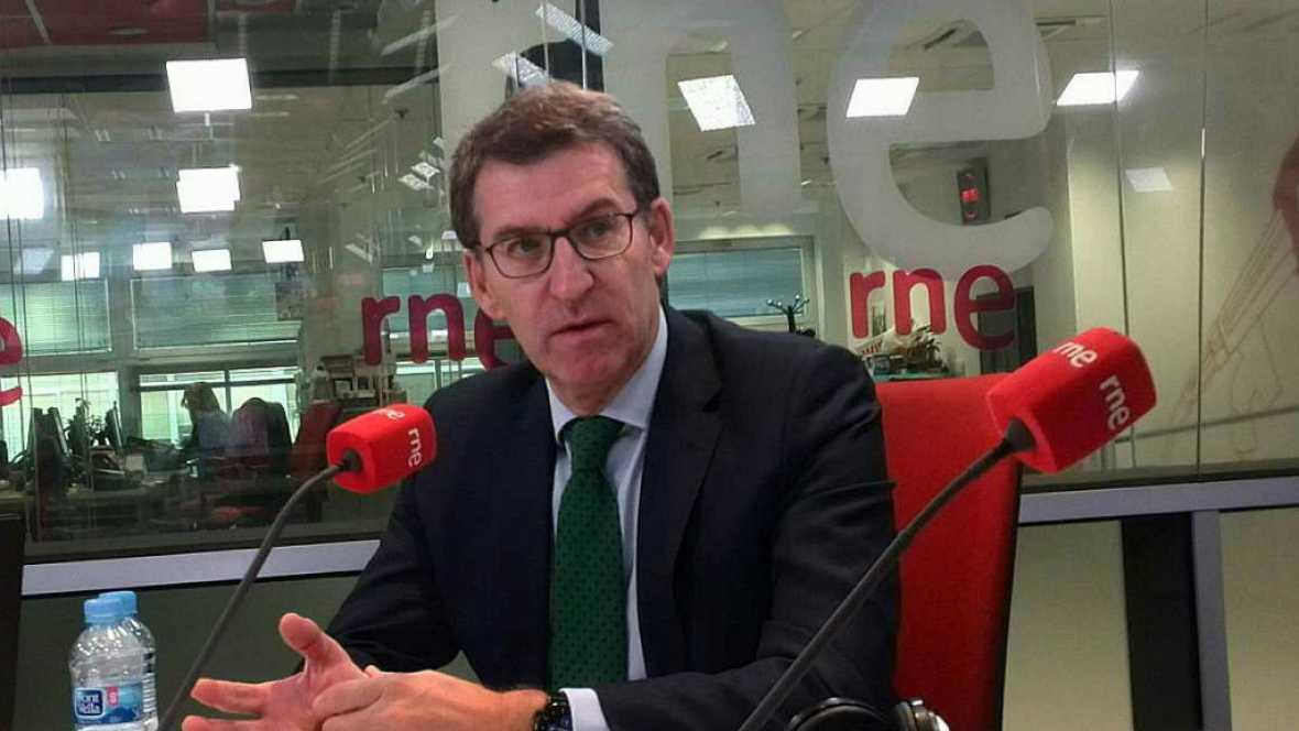 Las mañanas de RNE - Alberto Núñez Feijóo cree que sí hubo DUI - Escuchar ahora