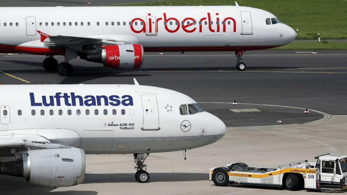 Radio 5 Actualidad - Lufthansa se queda con la mayor parte de Air Berlín - 12/10/17 - Escuchar ahora