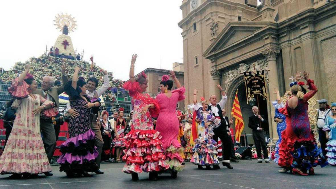 Radio 5 Actualidad - Propios y extraños celebran en Zaragoza la Fiesta del Pilar - 12/10/17 - Escuchar ahora