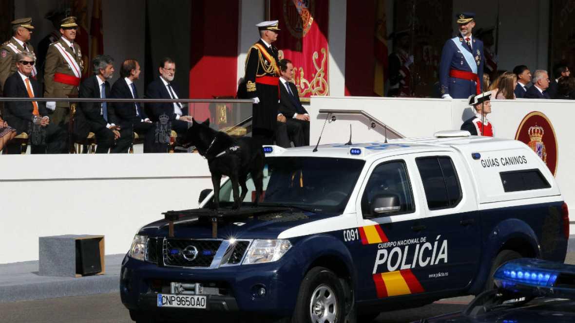 Diario de las 2 - El desfile de la Fiesta Nacional ha contado con la Policía Nacional - Escuchar ahora
